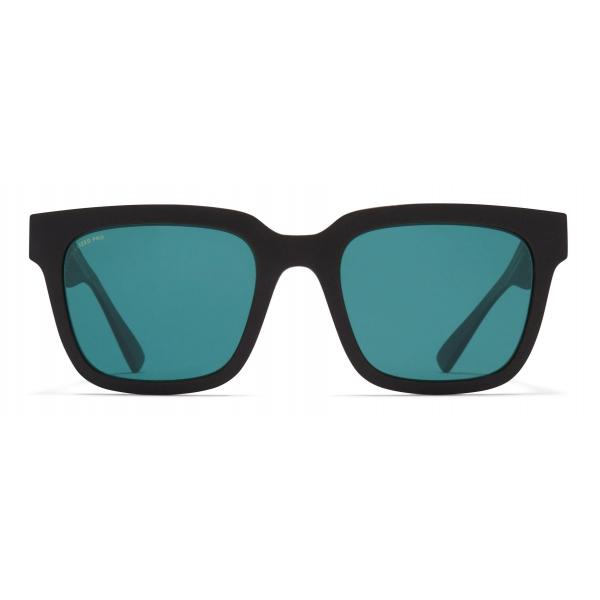 Mykita - Dusk - Mykita Mylon - Ebony Brown Ocean Blue - Mylon Collection - Sunglasses - Mykita Eyewear