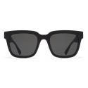 Mykita - Dusk - Mykita Mylon - Black Grey - Mylon Collection - Sunglasses - Mykita Eyewear