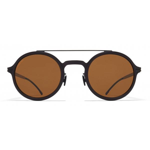 Mykita - Hemlock - Mykita Mylon - Nero Ambra Marrone - Mylon Collection - Occhiali da Sole - Mykita Eyewear