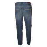 Dondup - Low Crotch Jeans Washed Denim Canvas - Blue Jeans - Trousers - Luxury Exclusive Collection