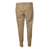 Dondup - Lightweight Cotton Trousers - Camel - Trousers - Luxury Exclusive Collection