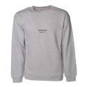 Dondup - Sweatshirt with Dondup Print - Grey - Sweatshirt - Luxury Exclusive Collection