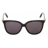 Alexander McQueen - Skull Droplets Acetate Sunglasses - Black - Alexander McQueen Eyewear