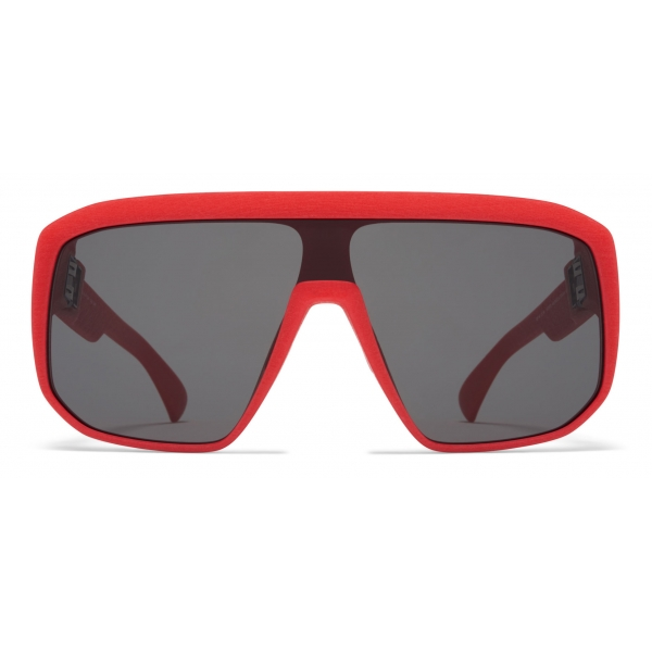 Mykita - Shift - Mykita Mylon - Crimson Red Dark Grey - Mylon Collection - Sunglasses - Mykita Eyewear