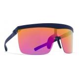 Mykita - Trust - Mykita Mylon - Blue Navy Rainbow - Mylon Collection - Sunglasses - Mykita Eyewear