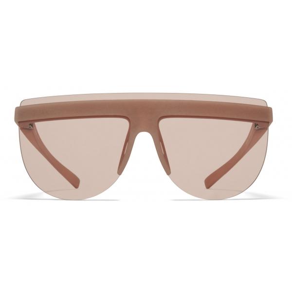 Mykita - MMCIRCLE001 - Mykita + Maison Margiela - Nude - Mylon Collection - Sunglasses - Mykita Eyewear