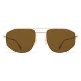 Mykita - MMCRAFT017 - Mykita + Maison Margiela - Champagne Gold Brown - Metal Collection - Sunglasses - Mykita Eyewear