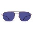 Mykita - MMCRAFT017 - Mykita + Maison Margiela - Copper Grey Indigo - Metal Collection - Sunglasses - Mykita Eyewear