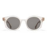 Mykita - MMRAW013 - Mykita + Maison Margiela - Champagne Grey - Acetate Collection - Sunglasses - Mykita Eyewear