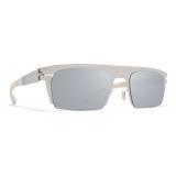 Mykita - New - Bernhard Willhelm - Silver Chantilly White - Metal Collection - Sunglasses - Mykita Eyewear