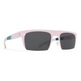 Mykita - New - Bernhard Willhelm - Pink Emerald Dark Grey - Metal Collection - Sunglasses - Mykita Eyewear