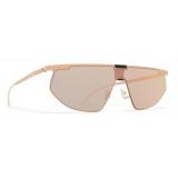 Mykita - Paris - Bernhard Willhelm - Safrane Black Champagne Gold - Metal Collection - Sunglasses - Mykita Eyewear