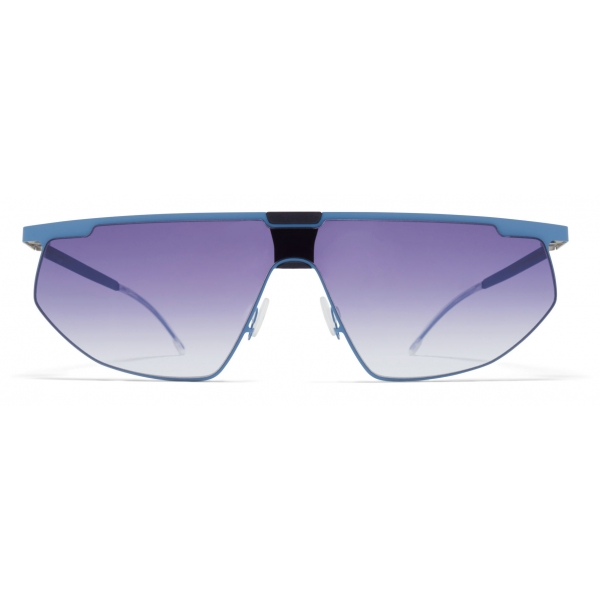 Mykita - Paris - Bernhard Willhelm - Blue Grey Black - Metal Collection - Sunglasses - Mykita Eyewear