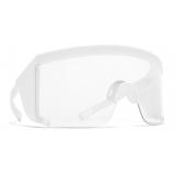 Mykita - Guard One - Mykita Mylon - White - Mylon Collection - Sunglasses - Mykita Eyewear