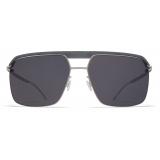 Mykita - ML03 - Mykita + Leica - Grey Silver Black - Metal Collection - Sunglasses - Mykita Eyewear