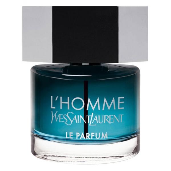 Yves Saint Laurent - L'HOMME Le Parfum - Una Fragranza Legnosa con Cardamomo, Basilico e Legno di Cedro - 60 ml