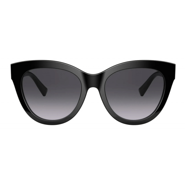 Valentino - VLogo Signature Cat-Eye Acetate Sunglasses - Black - Valentino Eyewear