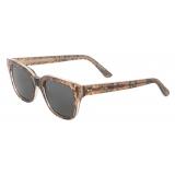 Céline - Black Frame 04 Sunglasses in Acetate - Python Print - Sunglasses - Céline Eyewear