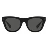Valentino - VLTN Squared Acetate Sunglasses - Gray - Valentino Eyewear