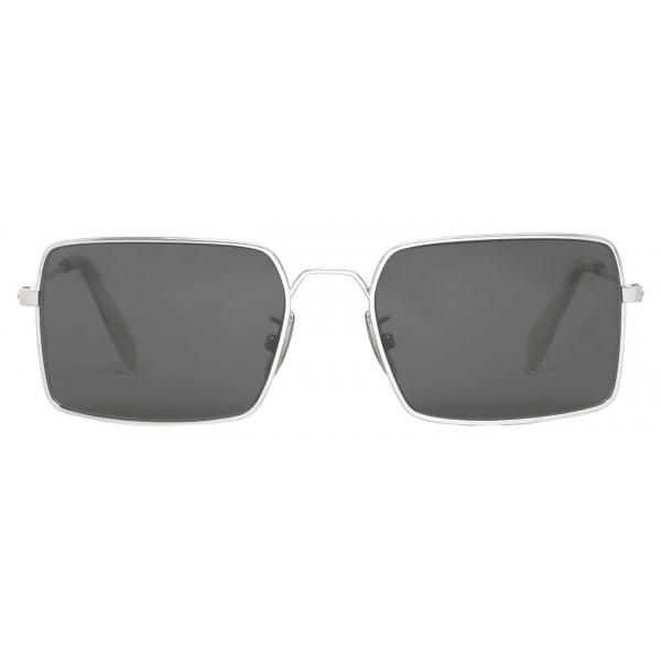 Céline - Occhiali da Sole Metal Frame 18 in Metallo - Argento Fumo  - Occhiali da Sole - Céline Eyewear