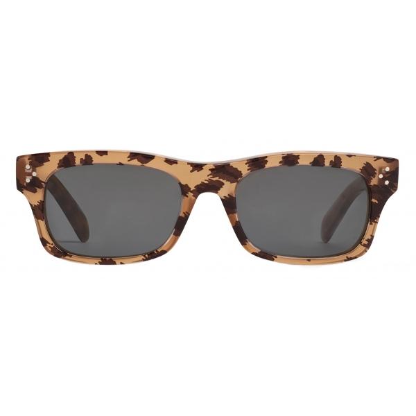 Céline - Occhiali da Sole Black Frame 23 in Acetato - Leopardato - Occhiali da Sole - Céline Eyewear