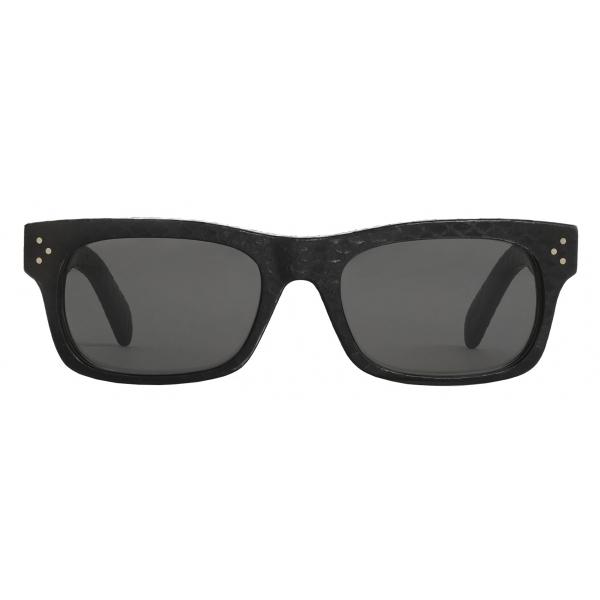 Céline - Occhiali da Sole Black Frame 23 in Acetato e Pelle - Nero - Occhiali da Sole - Céline Eyewear