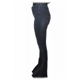 Dondup - Jeans Bell-Shaped Leg - Dark Denim - Trousers - Luxury Exclusive Collection