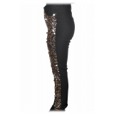 Dondup - Jeans with Sequins and Bezel Applications - Black - Trousers - Luxury Exclusive Collection