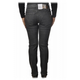 Dondup - Jeans with Bezels and Studs Applications - Grey - Trousers - Luxury Exclusive Collection