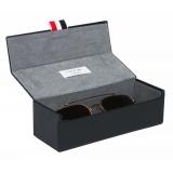 Thom Browne - White Gold and Silver Aviator Sunglasses - Thom Browne Eyewear