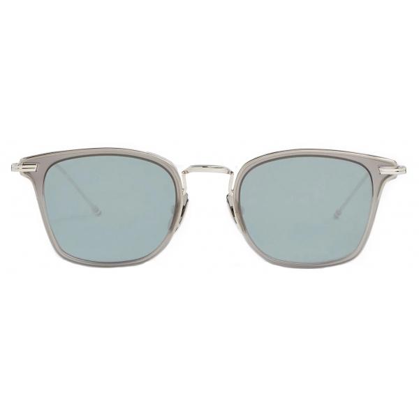 Thom Browne - Occhiali da Sole Quadrati Argento - Thom Browne Eyewear