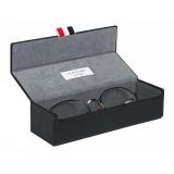 Thom Browne - Navy and White Gold Pantos Sunglasses - Thom Browne Eyewear