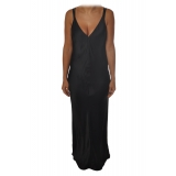 Ottod'Ame - Elegance Gala Dress - Black - Dresses - Luxury Exclusive Collection