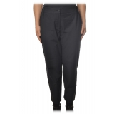 Ottod'Ame - Trousers with Elastic Waist - Blue - Trousers - Luxury Exclusive Collection