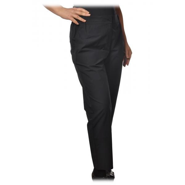 Ottod'Ame - Pantalone con Elastico in Vita - Blu - Pantaloni - Luxury Exclusive Collection