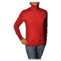 Ottod'Ame - High Neck Sweater - Red - Sweater - Luxury Exclusive Collection