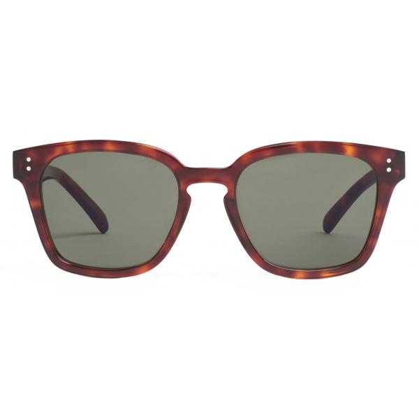 Céline - Black Frame 22 Sunglasses in Acetate - Transparent Champagne - Sunglasses - Céline Eyewear