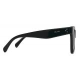Céline - Cat Eye S183 Sunglasses in Acetate - Black - Sunglasses - Céline Eyewear