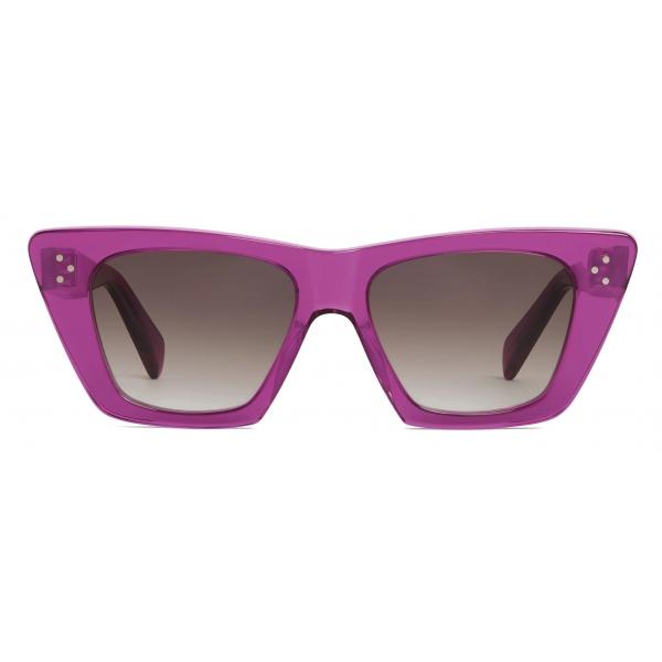 Céline - Occhiali da Sole  Cat Eye S187 in Acetato - Viola - Occhiali da Sole - Céline Eyewear