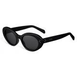 Céline - Cat Eye S193 Sunglasses in Acetate - Black - Sunglasses - Céline Eyewear
