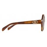 Céline - Maillon Triomphe 03 Sunglasses in Acetate - Blonde Havana - Sunglasses - Céline Eyewear