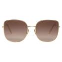 Céline - Metal Frame 16 Sunglasses in Metal - Gold Gradient Pink - Sunglasses - Céline Eyewear