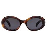 Céline - Triomphe 01 Sunglasses in Acetate - Blonde Havana - Sunglasses - Céline Eyewear