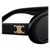 Céline - Triomphe 01 Sunglasses in Acetate - Black - Sunglasses - Céline Eyewear