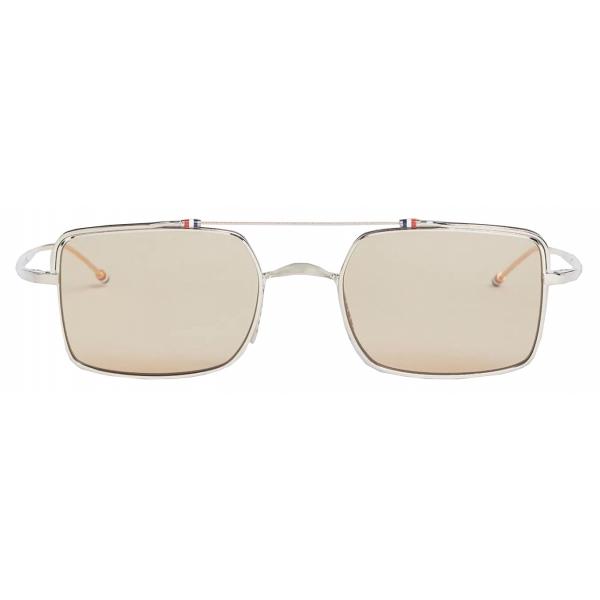 Thom Browne - Occhiali da Sole Quadrati in Tartaruga - Thom Browne Eyewear