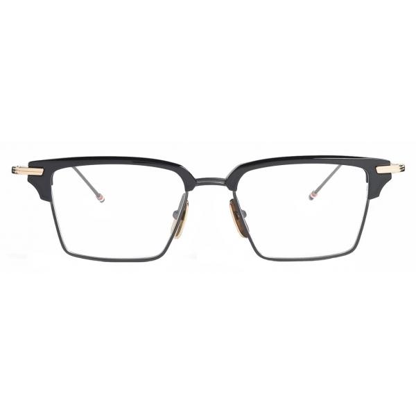 Thom Browne - Black Iron Wayfarer Eyeglasses - Thom Browne Eyewear