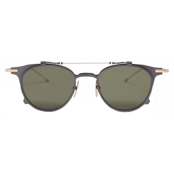 Thom Browne - Black Clubmaster Sunglasses - Thom Browne Eyewear