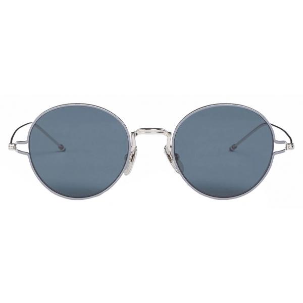 Thom Browne - Occhiali da Sole Rotondi Argento - Thom Browne Eyewear