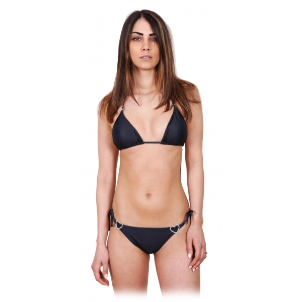 EP SheLux - Love21 - Black - Swarovski - Luxury Exclusive Collection - Made in Italy - High Quality Swimsuit