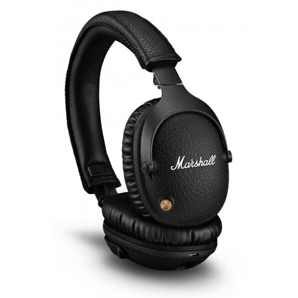 Marshall - Monitor II A.N.C. - Black - Bluetooth Headphones - Iconic Classic Premium High Quality Headphones